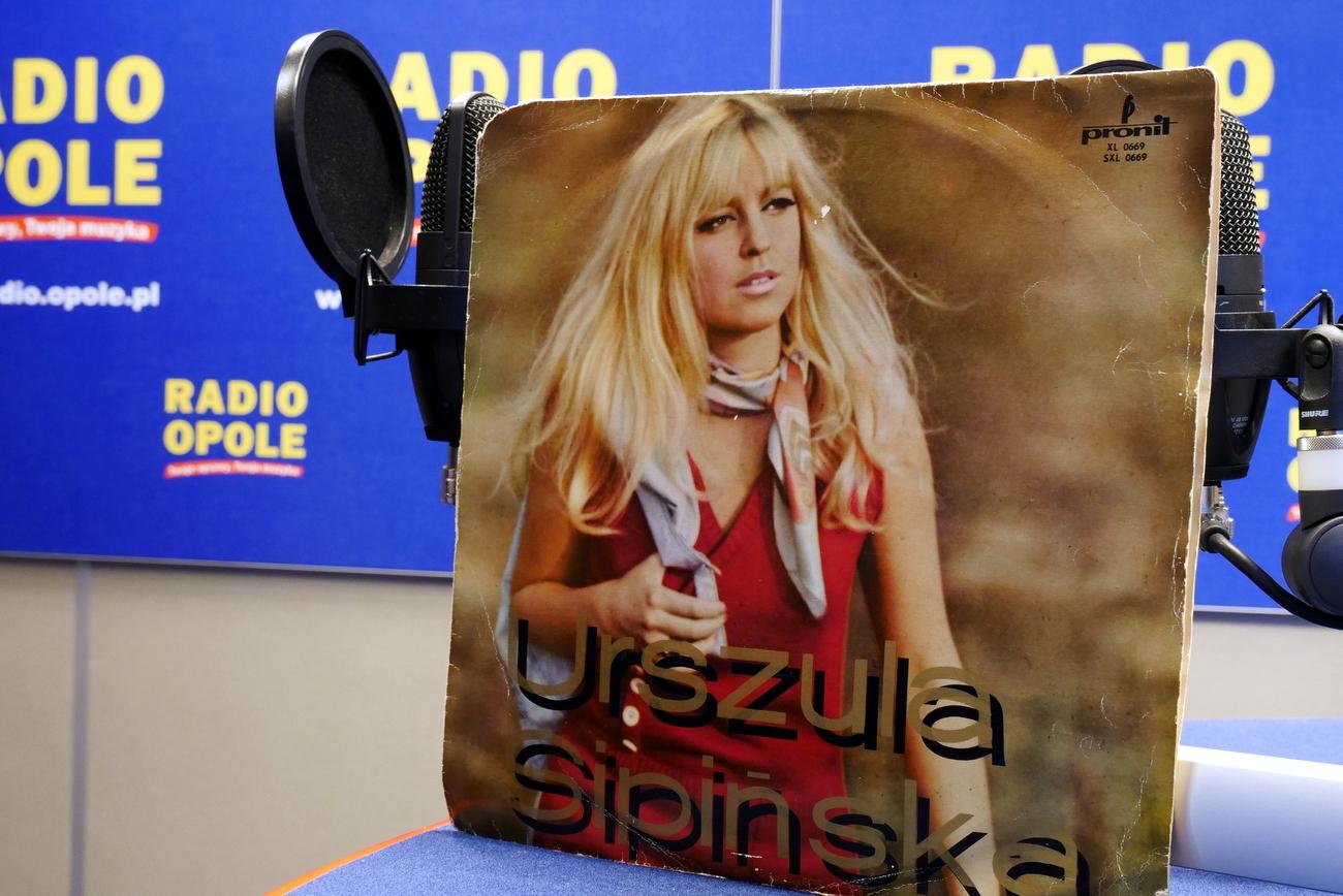 O debiutanckiej płycie Urszuli Sipińskiej w 2018 roku poświęcona była audycja 'Białe kruki z czarnych winyli' [fot. Paula Hołubowicz]