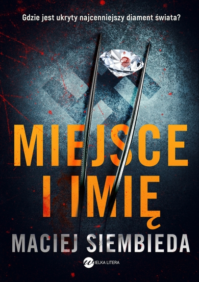 Maciej Siembieda 'Miejsce i imię' - okładka