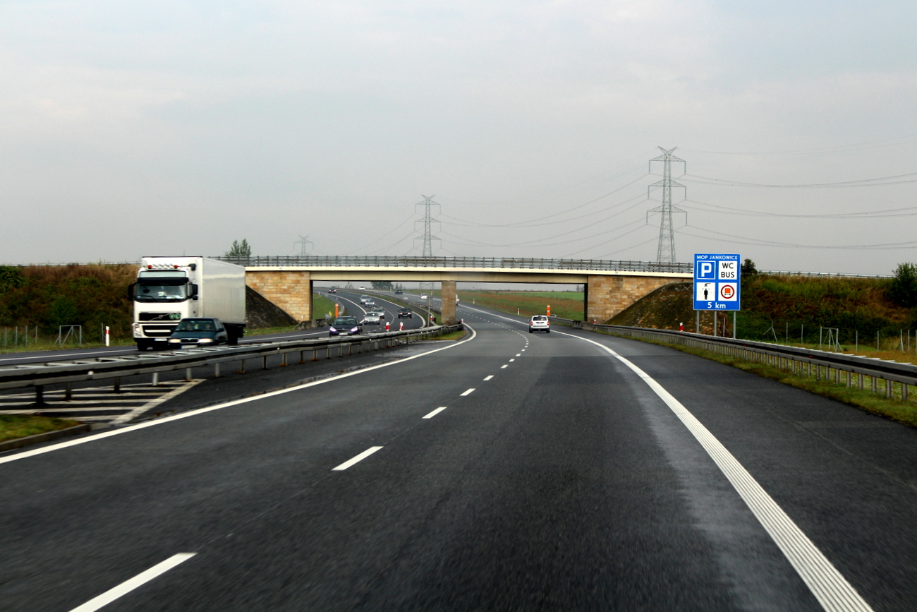 Uwaga kierowcy Mamy utrudnienia na A4 po kolizji dwóch tirów
