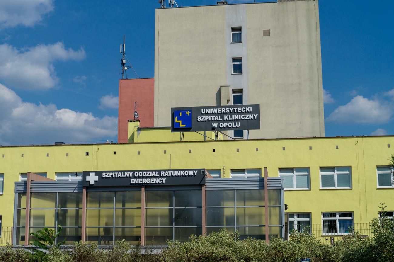 Uniwersytecki Szpital Kliniczny w Opolu [fot. archiwum USK]