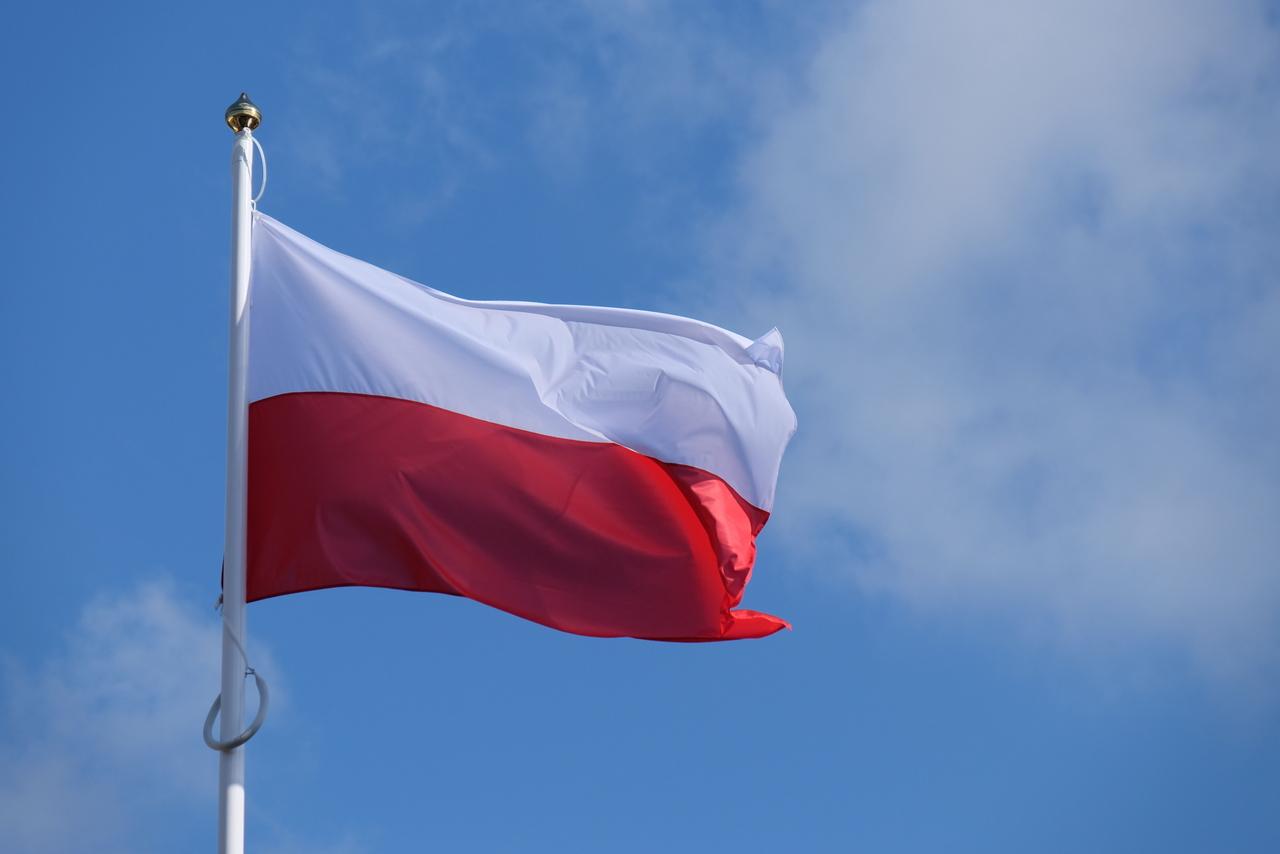 Flaga Polski [fot. Wanda Kownacka]