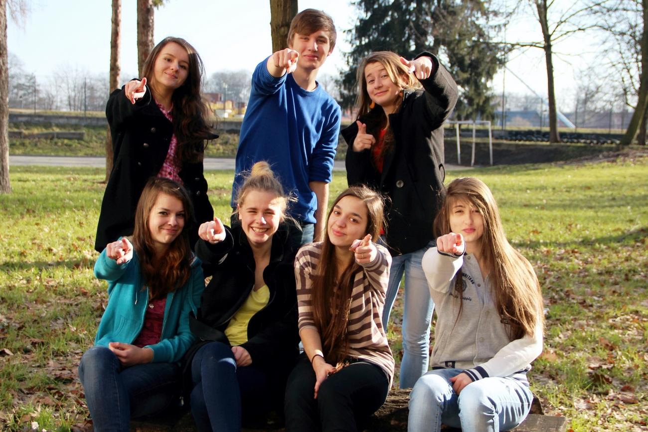 Uczniowie szkół średnich [fot. Adam Lecibil]