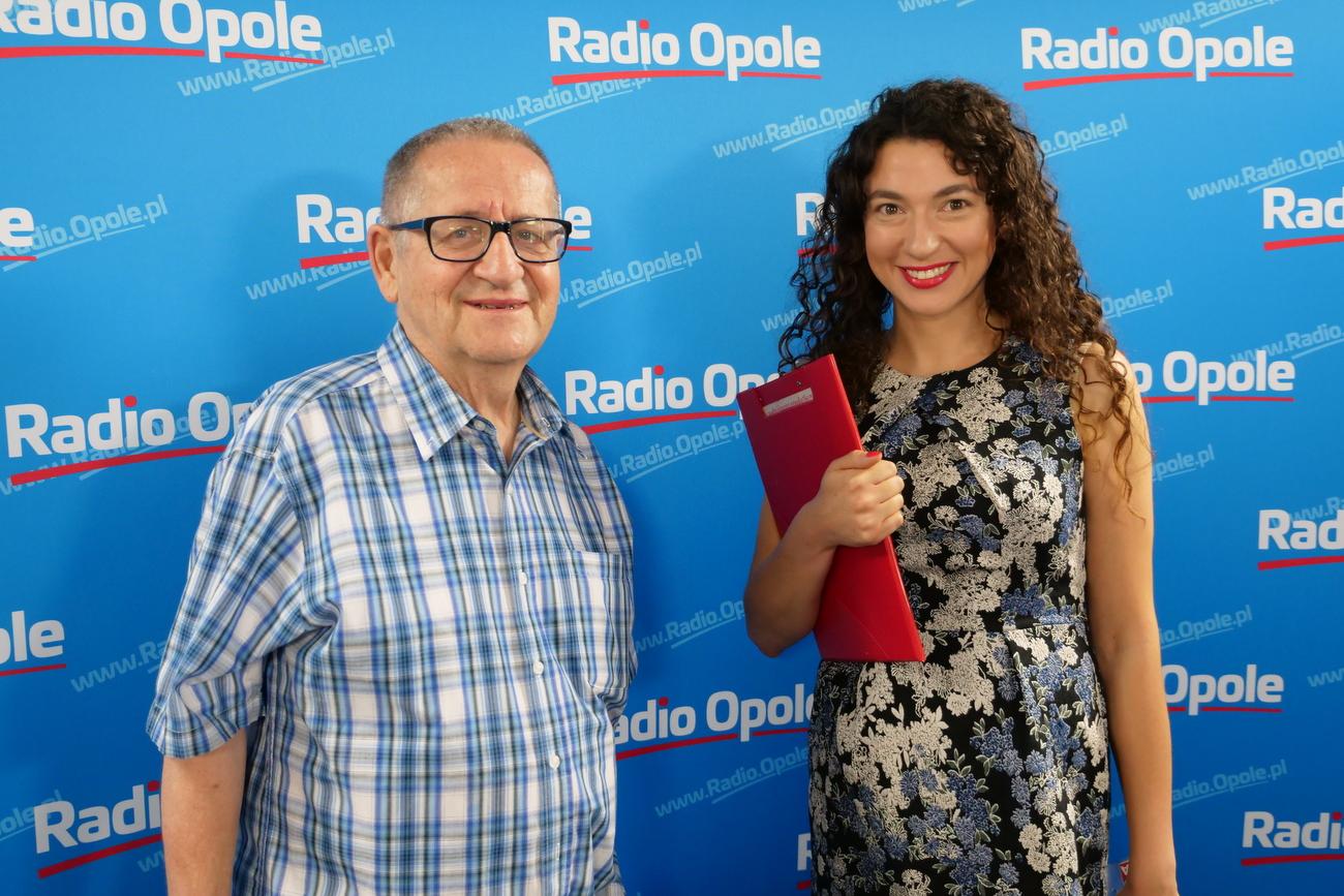 Jerzy Stemplewski i Katarzyna Zawadzka [fot. Łukasz Fura]