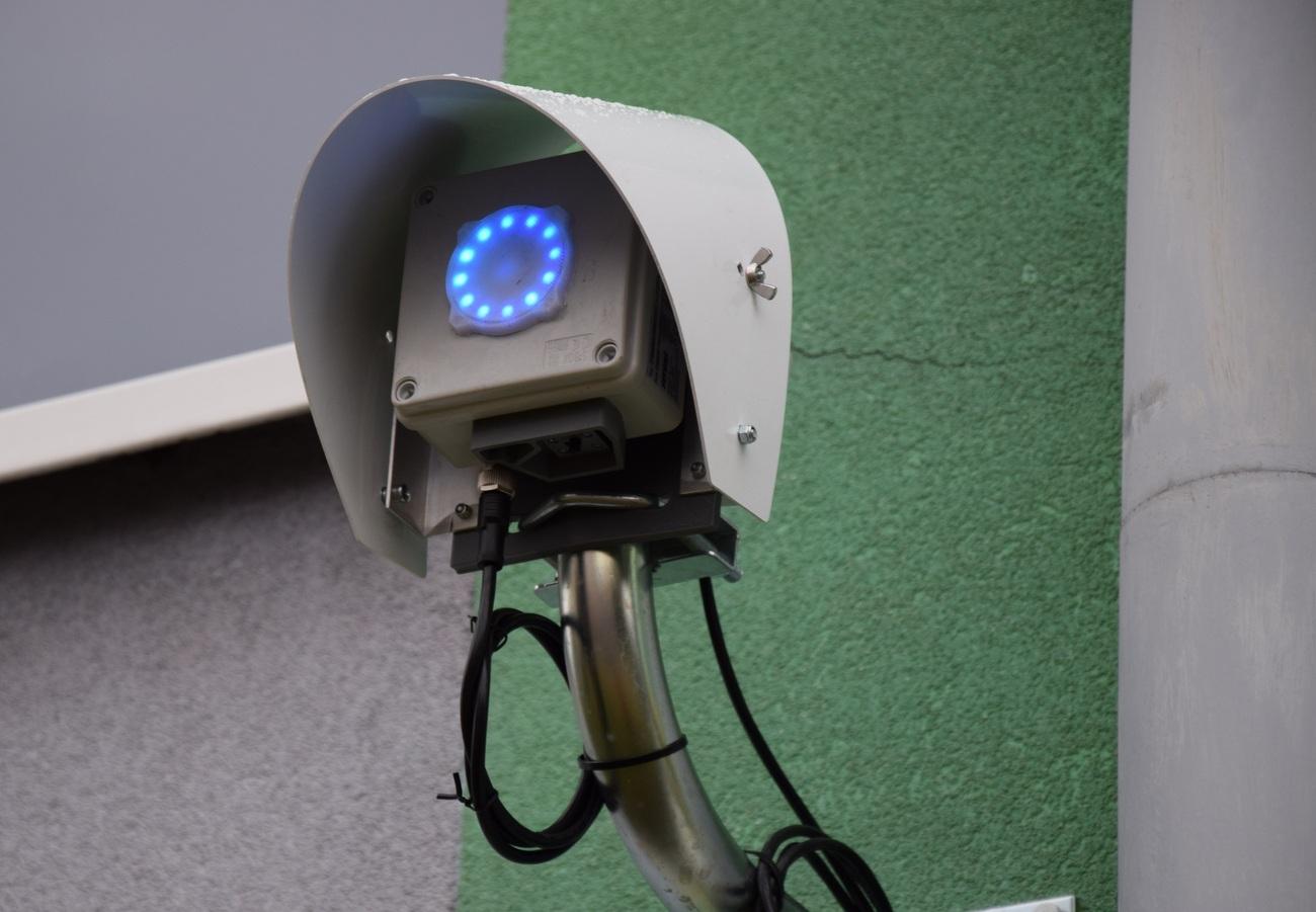 Czujnik mierzący jakość powietrza [fot. J. Jurkowski]