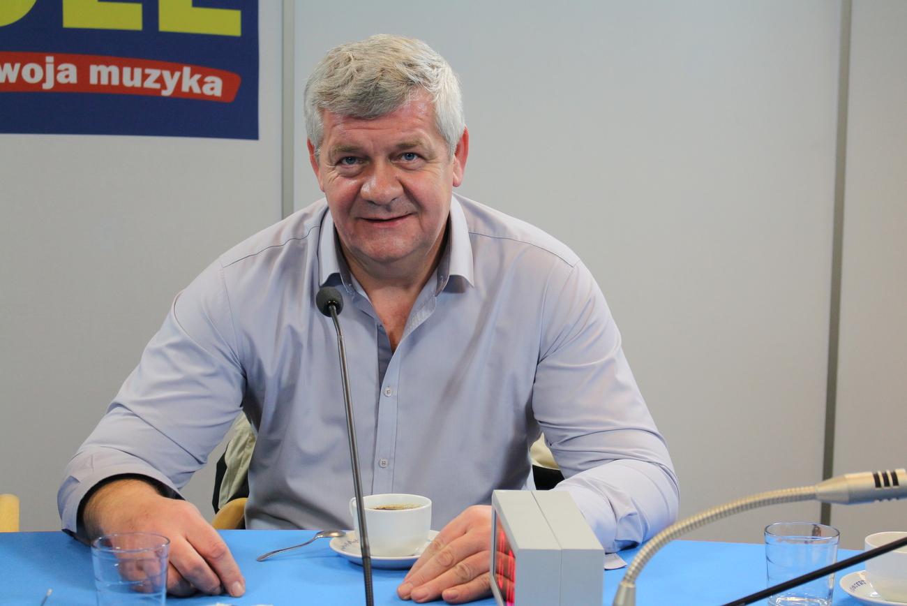 Grzegorz Adamczyk [fot. Justyna Krzyżanowska]