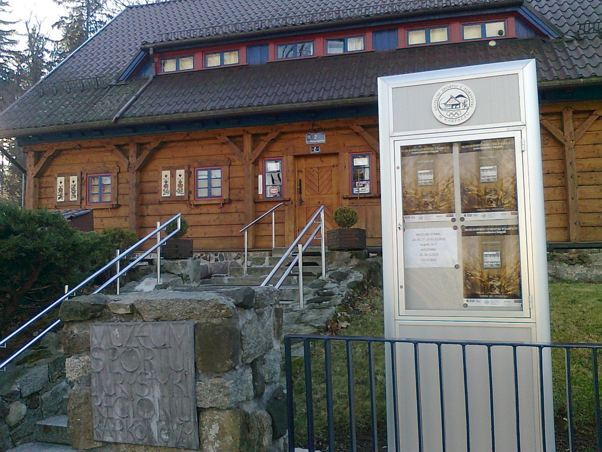 Muzeum Sportu i Turystyki w Karpaczu [fot. Barbara Tyslik]