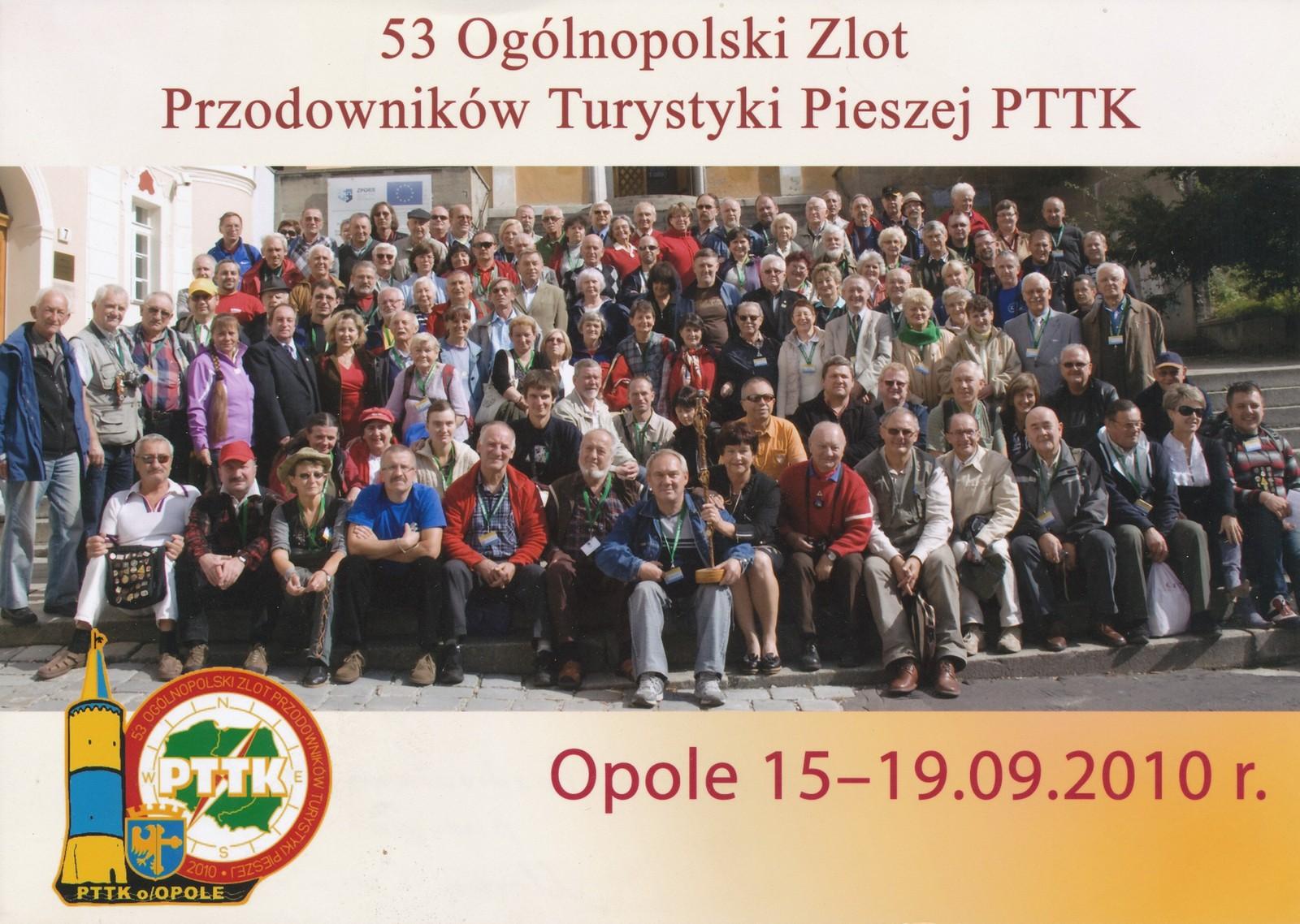 Zlot Przodowników Turystyki Pieszej 2010 [fot. archiwum Oddziału PTTK Opole]