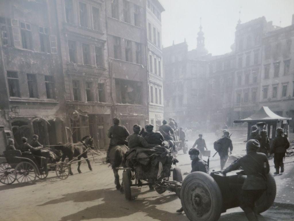 Nysa wiosną 1945 r. [fot. ze zbiorów Muzeum Powiatowego w Nysie]
