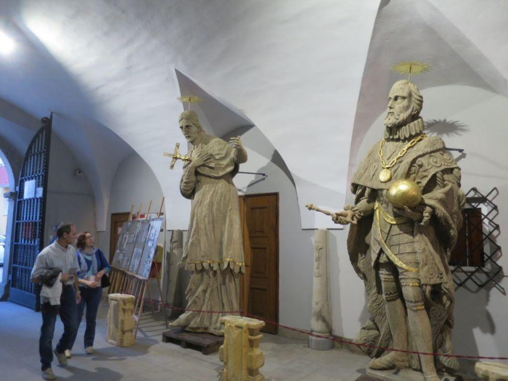 Cztery nyskie figury świętych [fot. Dorota Kłonowska]