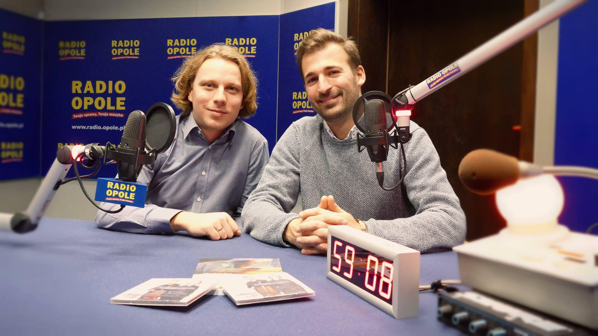 Reger Duo w Radiu Opole © [fot. Małgorzata Ślusarczyk]