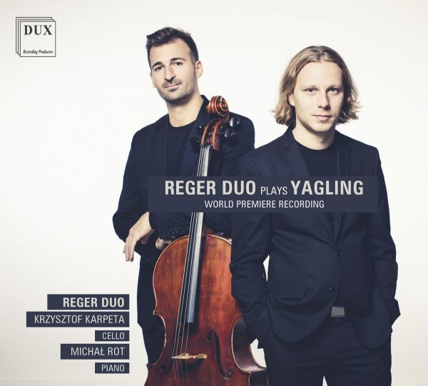 Okładka płyty zespołu Reger Duo