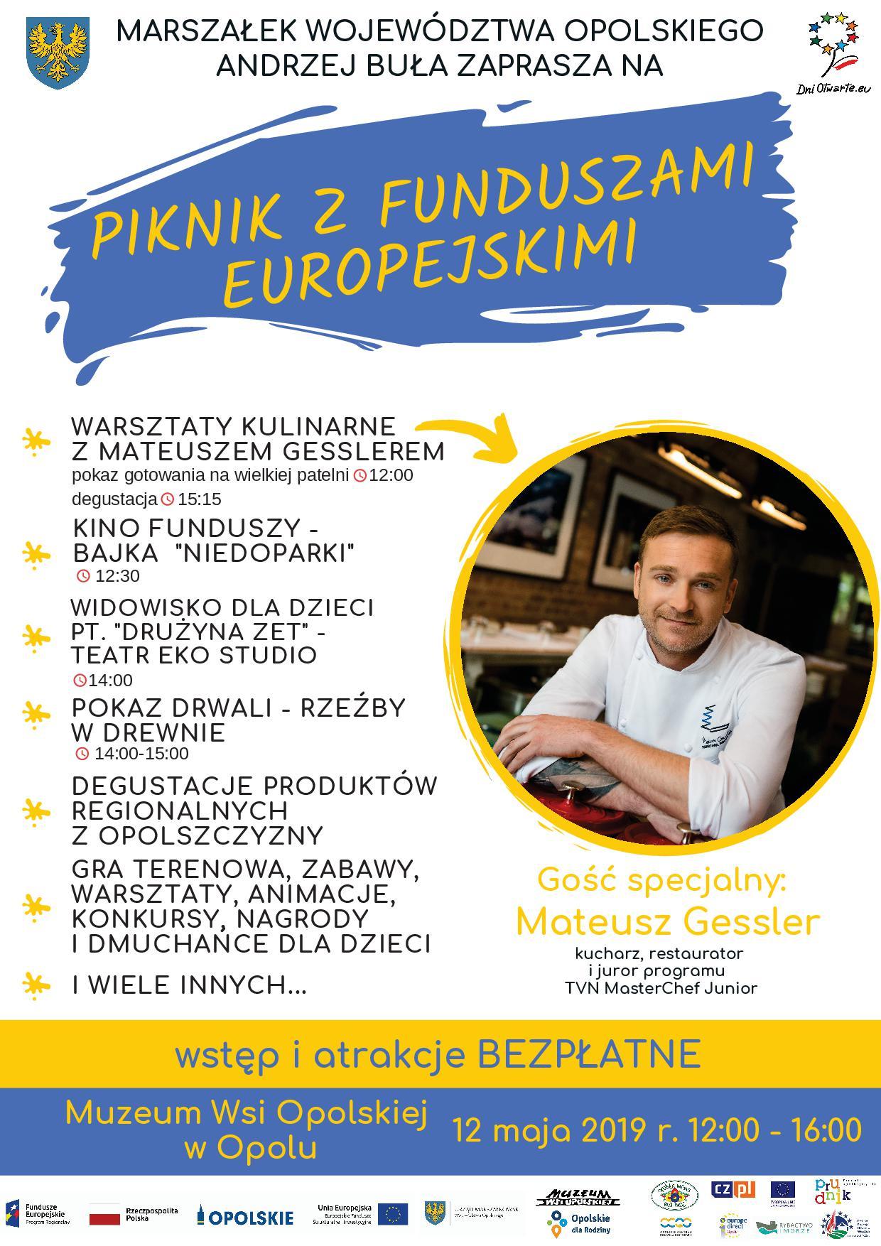 Piknik z Funduszami Europejskimi 2019