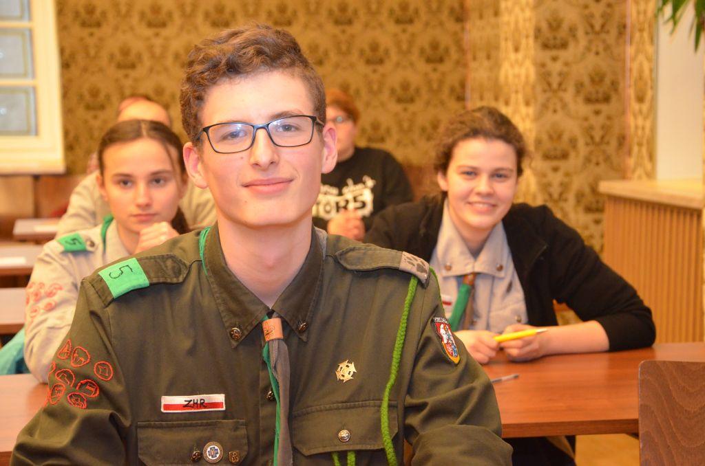 W opolskim ratuszu kolejny raz zorganizowano test wiedzy o Żołnierzach Wyklętych [fot. Piotr Wrona]