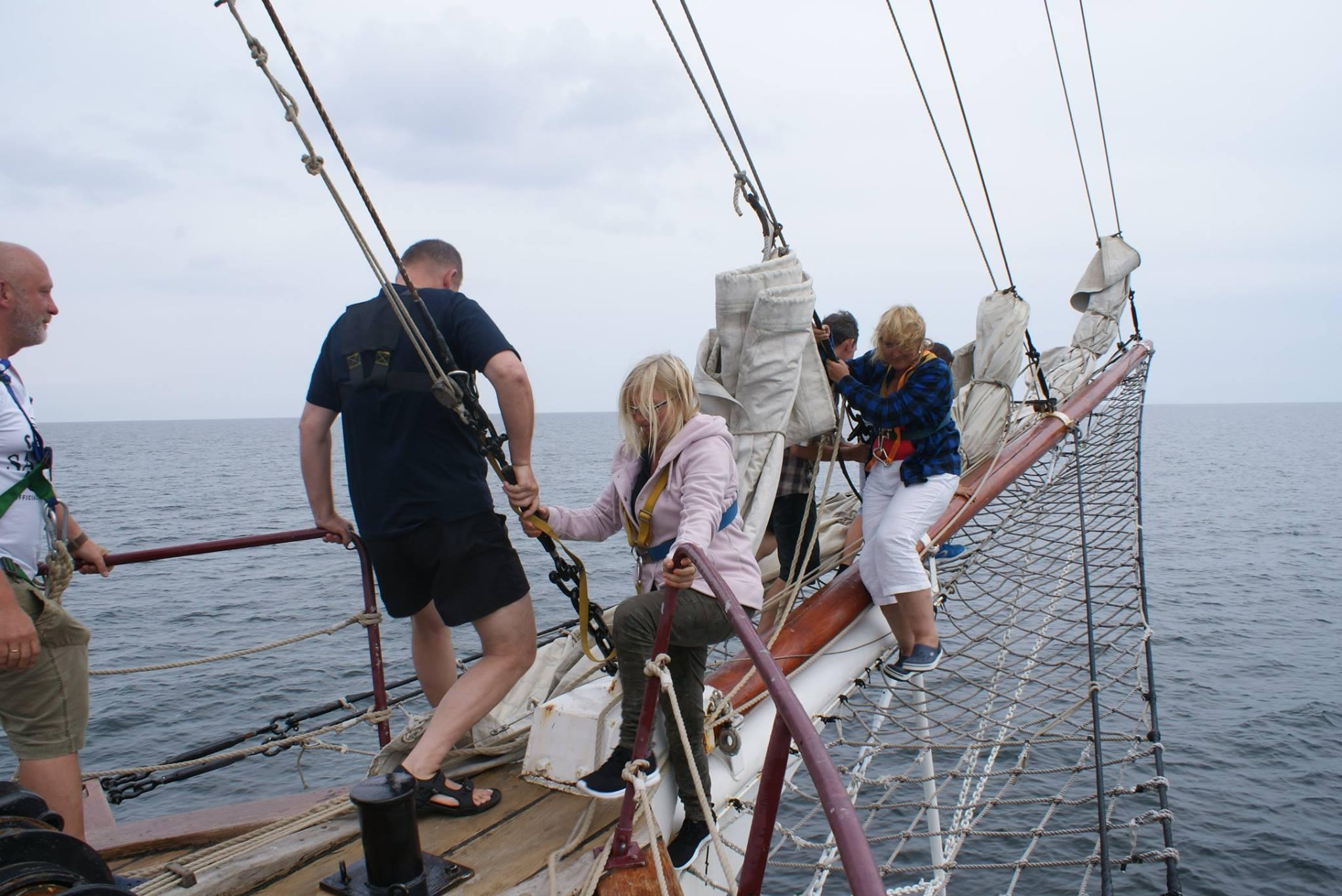 Przez tydzień czuli się jak prawdziwi żeglarze. Rejs daje nieporównywalne wrażenia