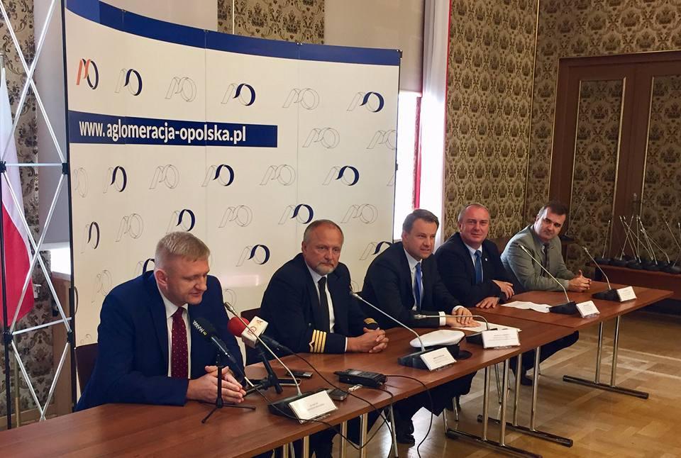 Konferencja poświęcona Odrze w opolskim ratuszu [fot. Urząd Miasta Opola]
