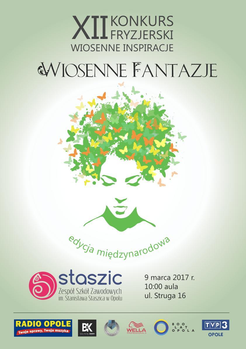 XII Konkurs Fryzjerski 'Wiosenne Inspiracje' odbędzie się w czwartek (09.03) w Zespole Szkół Zawodowych im. Stanisława Staszica w Opolu