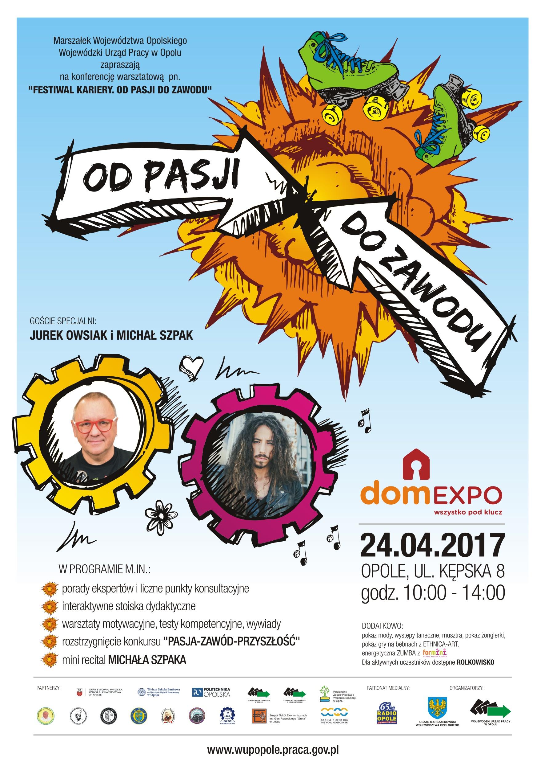 Jurek Owsiak i Michał Szpak gośćmi specjalnymi tego wydarzenia! To już w poniedziałek (24.04) w domEXPO!