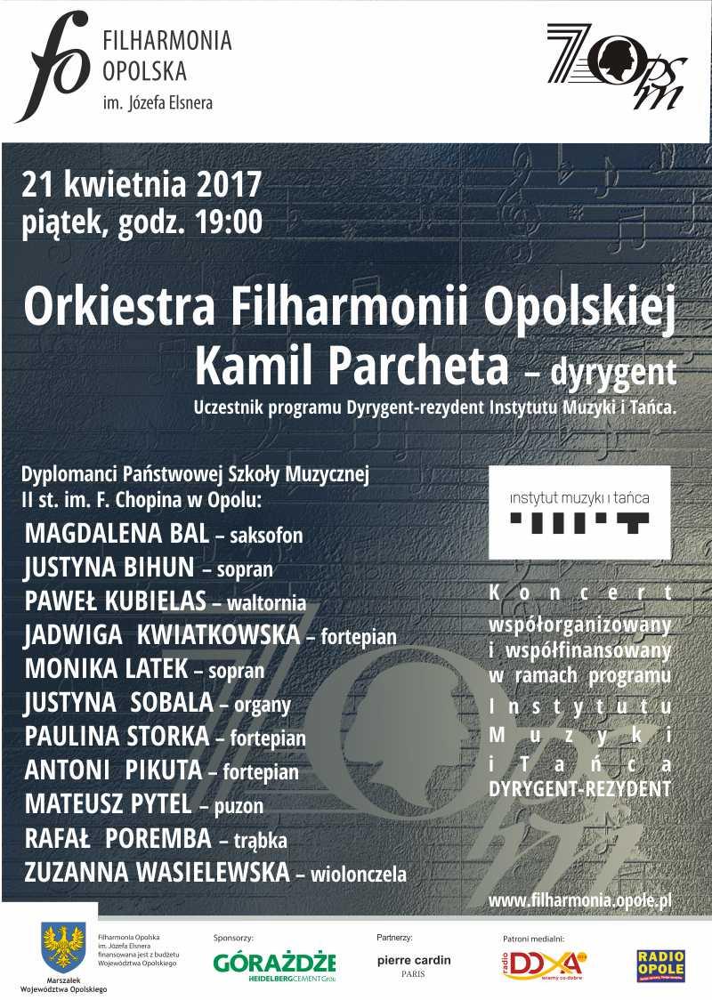70-lecie szkoły muzycznej w Opolu trwa - w piątek koncert dyplomantów