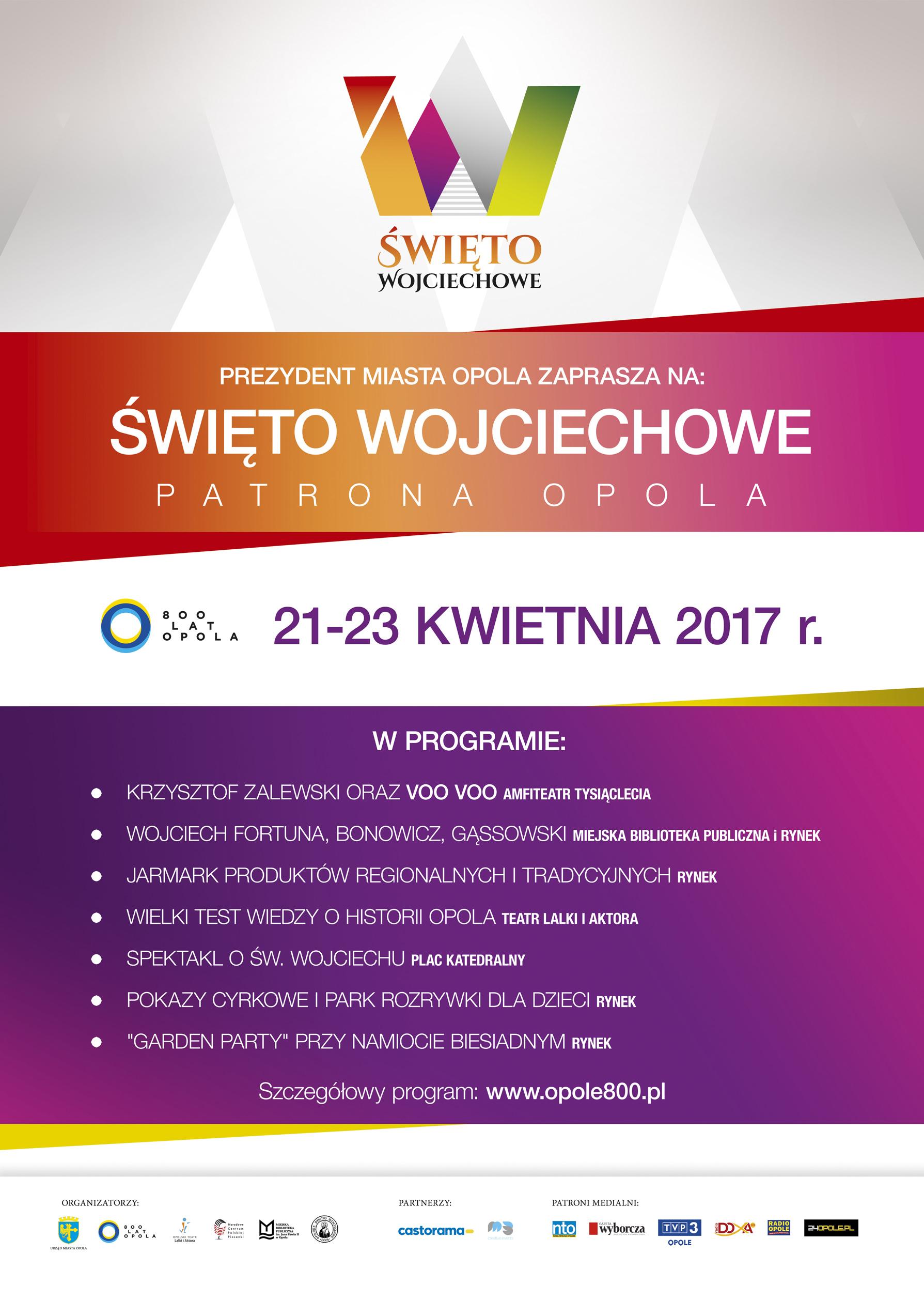 Święto Wojciechowe od piątku do niedzieli - zobacz program. Wydarzeń mnóstwo!
