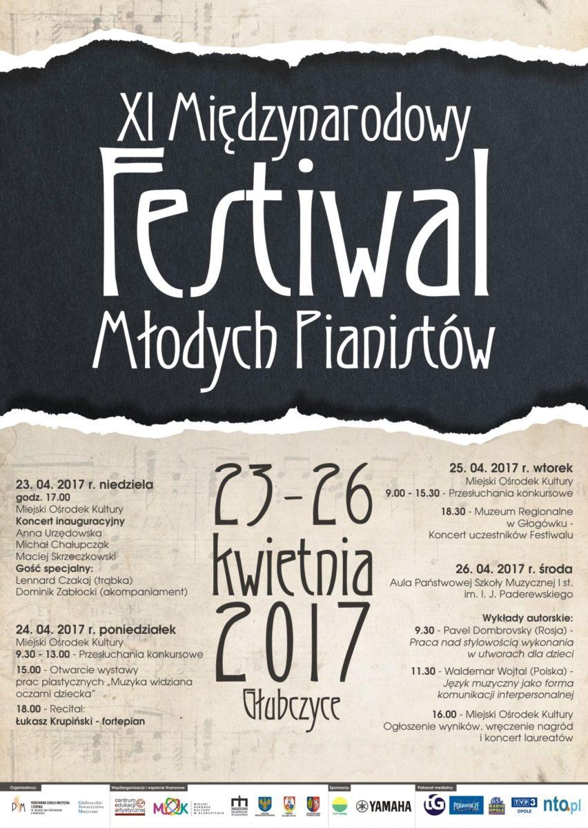 Festiwal młodych pianistów od niedzieli (23.04) w Głubczycach