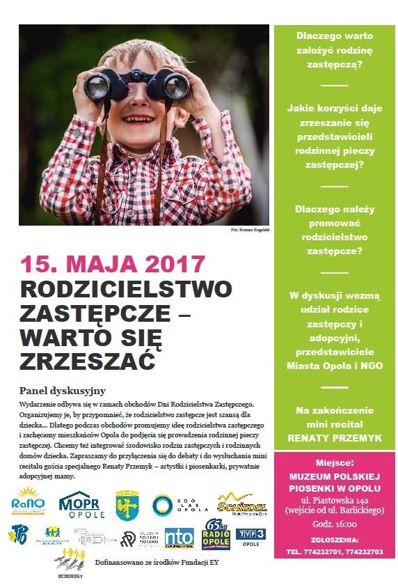 Zaproszenie na panel dyskusyjny 15 maja [materiały organizatora]