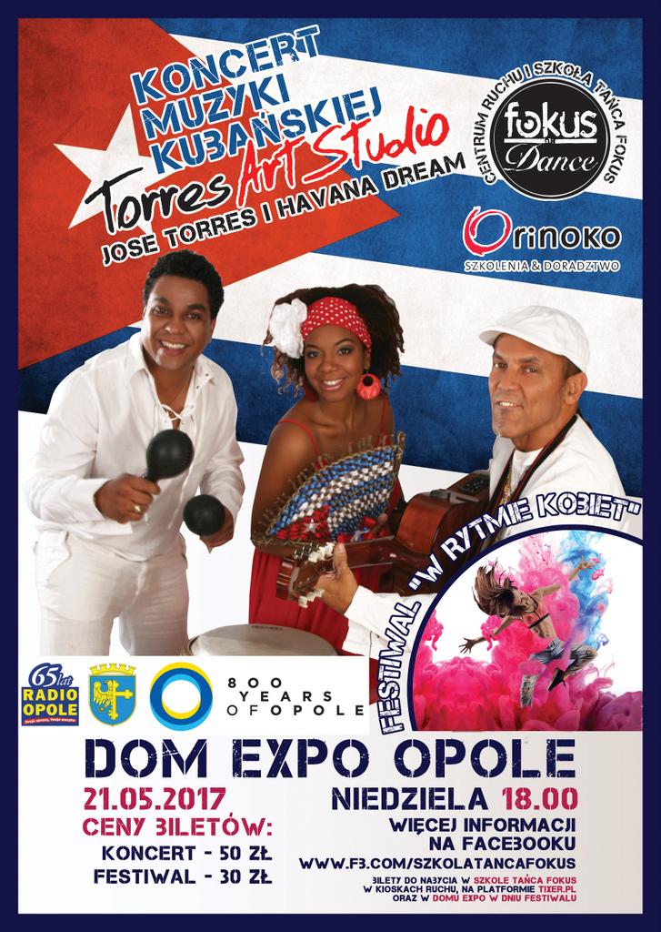 Kobiety zapraszają kobiety w niedzielę do domEXPO. Festiwal 'W rytmie kobiet' zakończy koncert Jose Torresa i zespołu Havana Dream