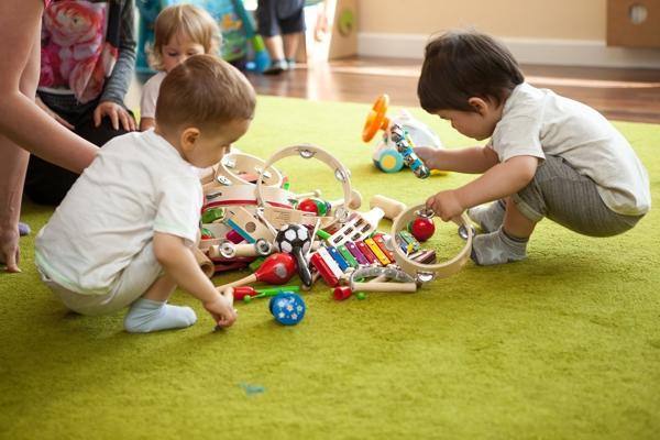 Dzieci w przedszkolu [fot. Michał Grocholski]
