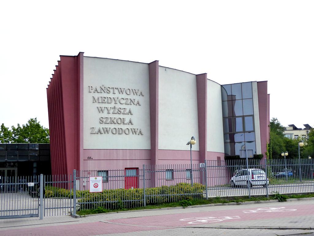 Państwowa Medyczna Wyższa Szkoła Zawodowa w Opolu [fot. Witold Wośtak]