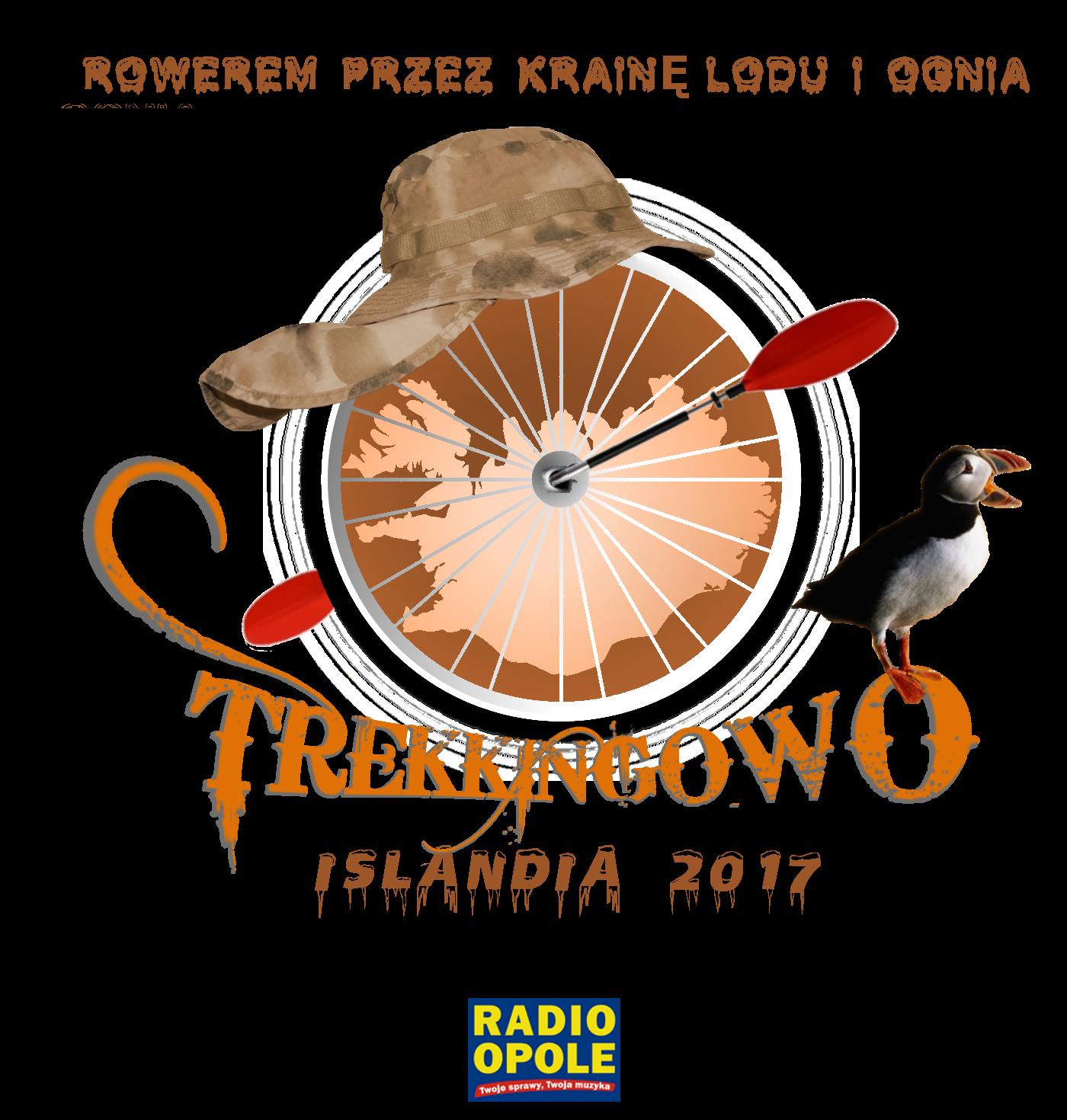 Radio Opole wyprawie 'Rowerem przez krainę lodu i ognia. Islandia 2017' patronuje medialnie