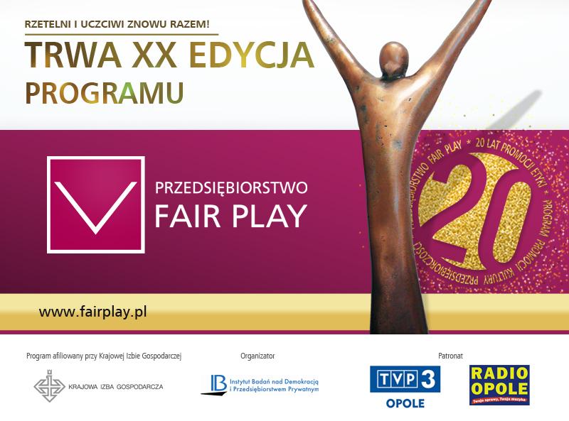 Zgłoś firmę do programu 'Przedsiębiorstwo Fair Play'