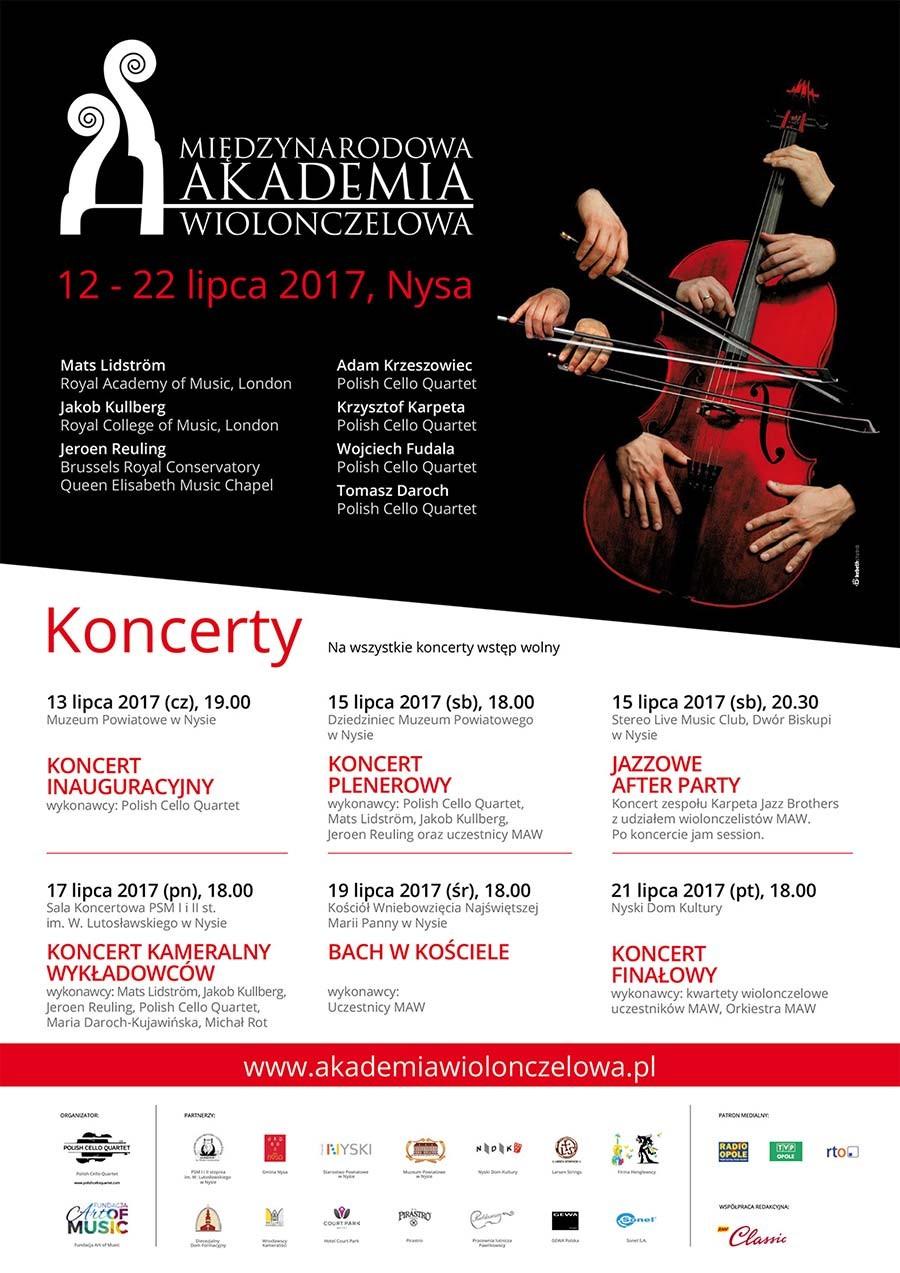Rusza IV Międzynarodowa Akademia Wiolonczelowa - w programie aż siedem koncertów