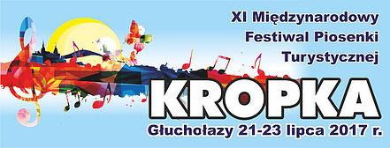 XI Międzynarodowy Festiwal Piosenki Turystycznej 'Kropka' w Głuchołazach potrwa od 20 do 23 lipca 2017 roku
