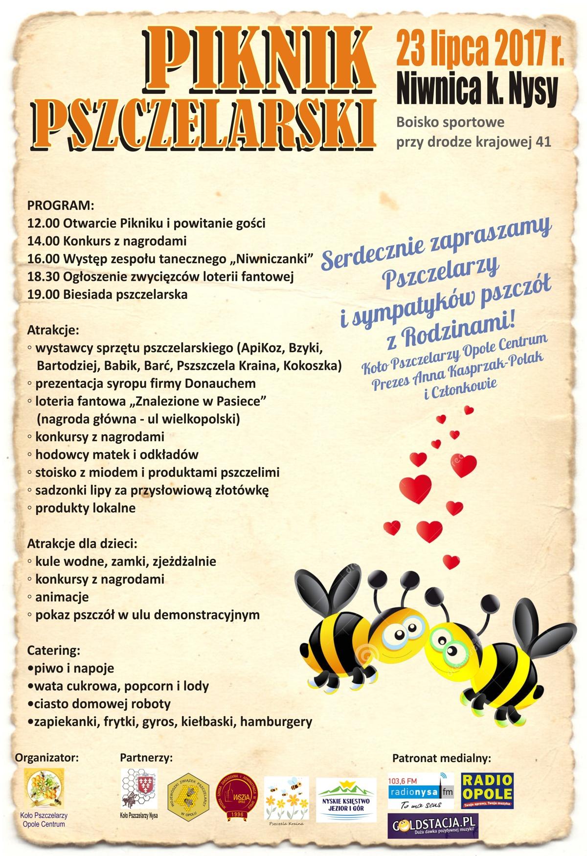 Pszczelarze przybywajcie, w Niwnicy szykują piknik