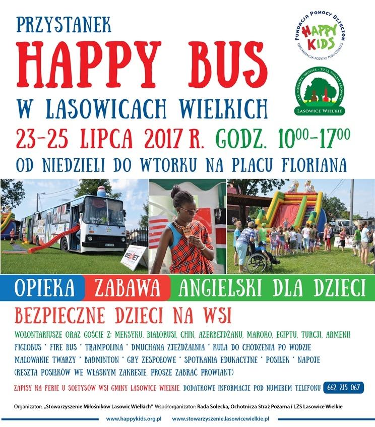 Lasowice Wielkie będą gościć Wesoły Autobus