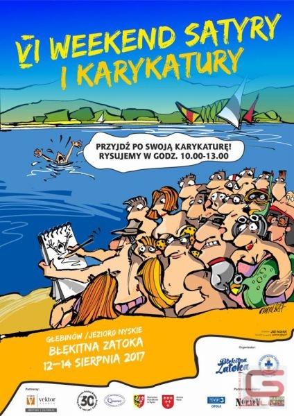 Weekend Satyry i Karykatury nad Jeziorem Nyskim