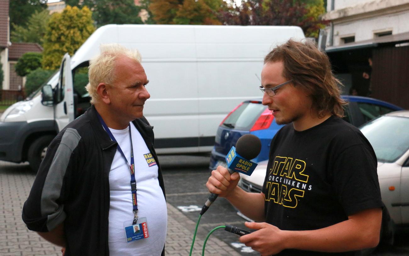 Tomasz Wojyłko i Marek Sołtysiak - Radio Opole