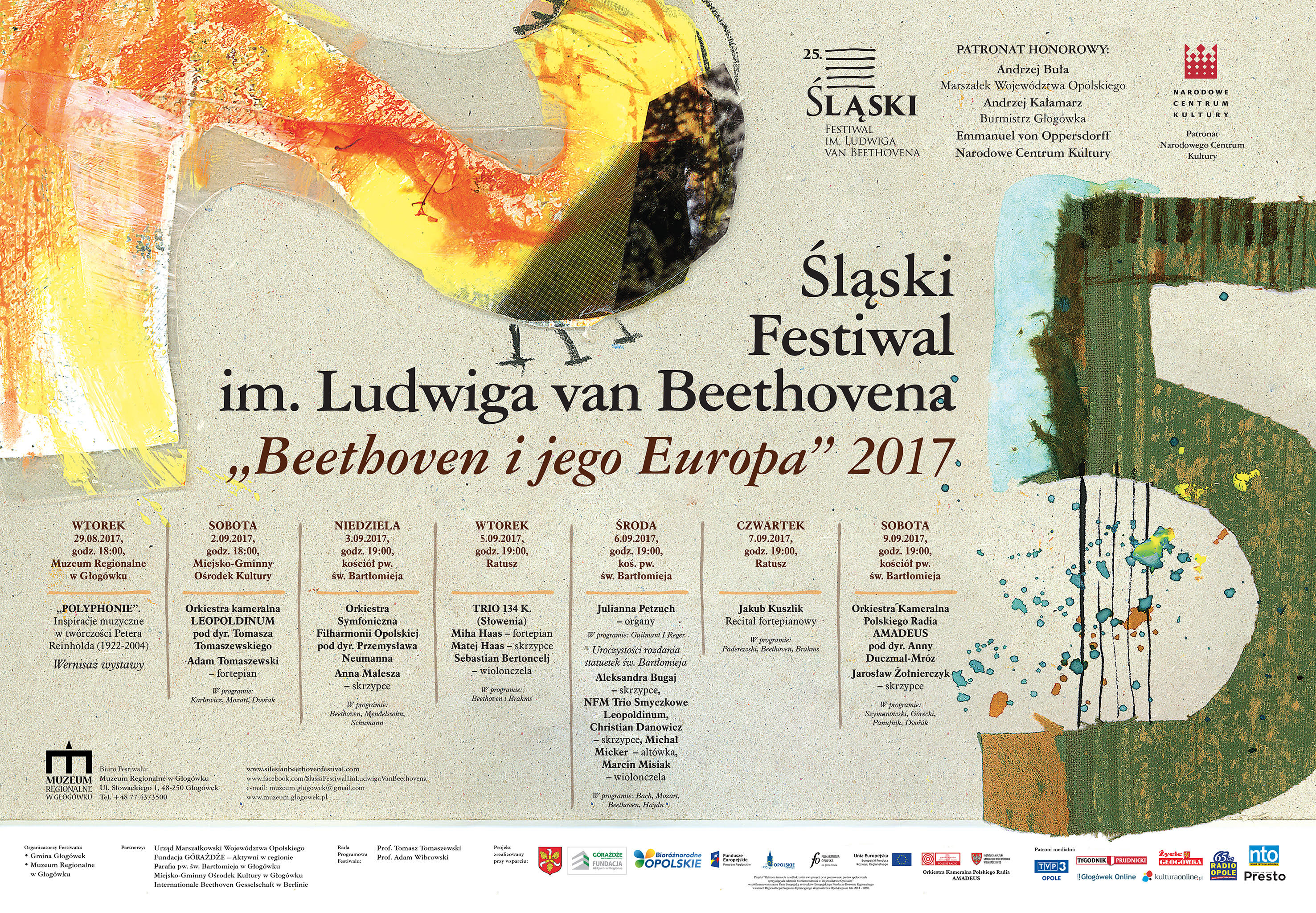Śląski Festiwal im. Ludwiga van Beethovena doczekał się jubileuszu 25-lecia