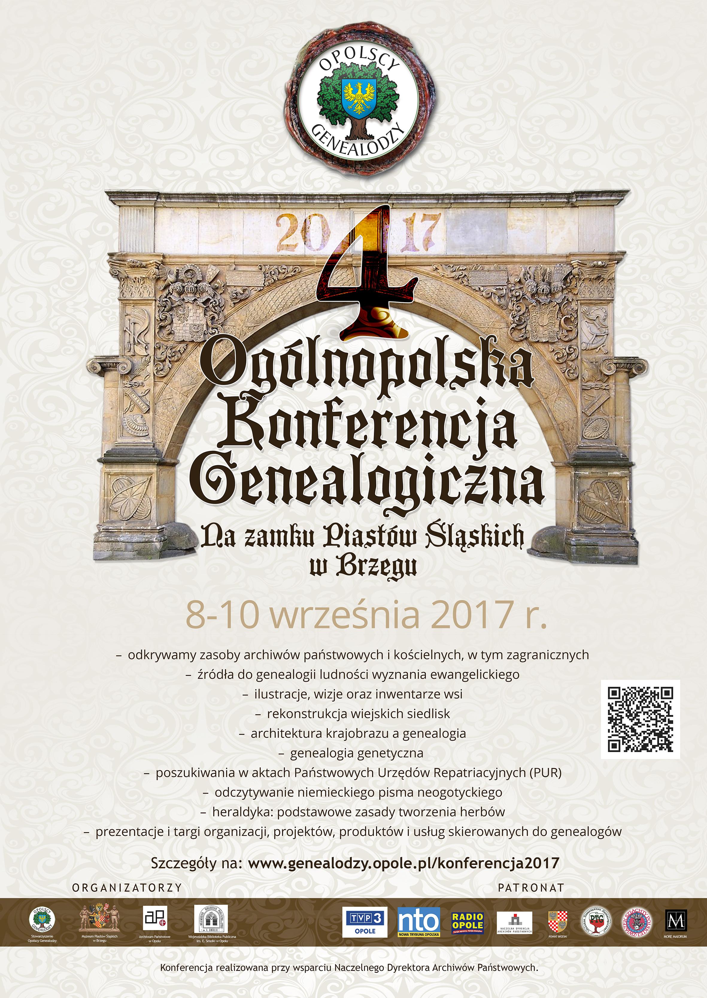 Spotkanie genealogów w Brzegu już ten w weekend (08-10.09)