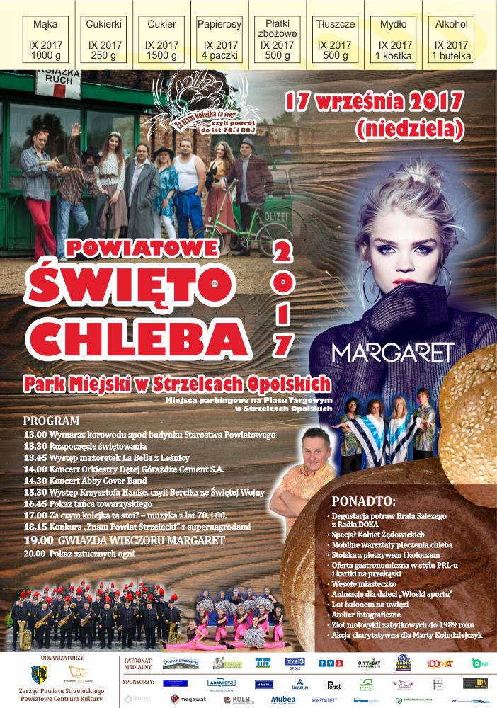 Margaret gwiazdą Święta Chleba w Strzelcach Opolskich