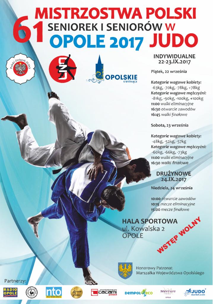 Najlepsi judocy i judoczki z całej Polski zmierzą się w Opolu