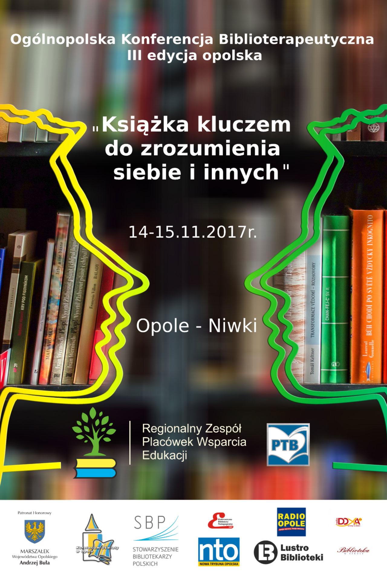 bibliterapia plakat