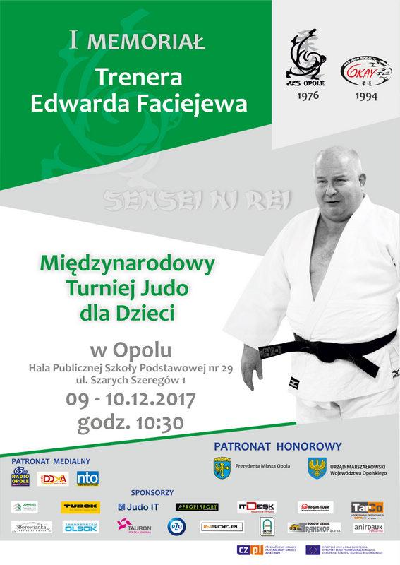 I Memoriał Edwarda Faciejewa od soboty (09.12) do niedzieli (10.12) w PSP nr 29