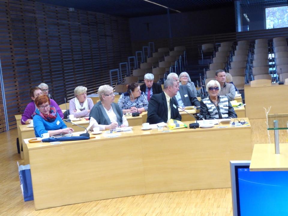 Posiedzenie Forum Seniorów Samorządu Województwa Opolskiego [fot. Witold Wośtak]