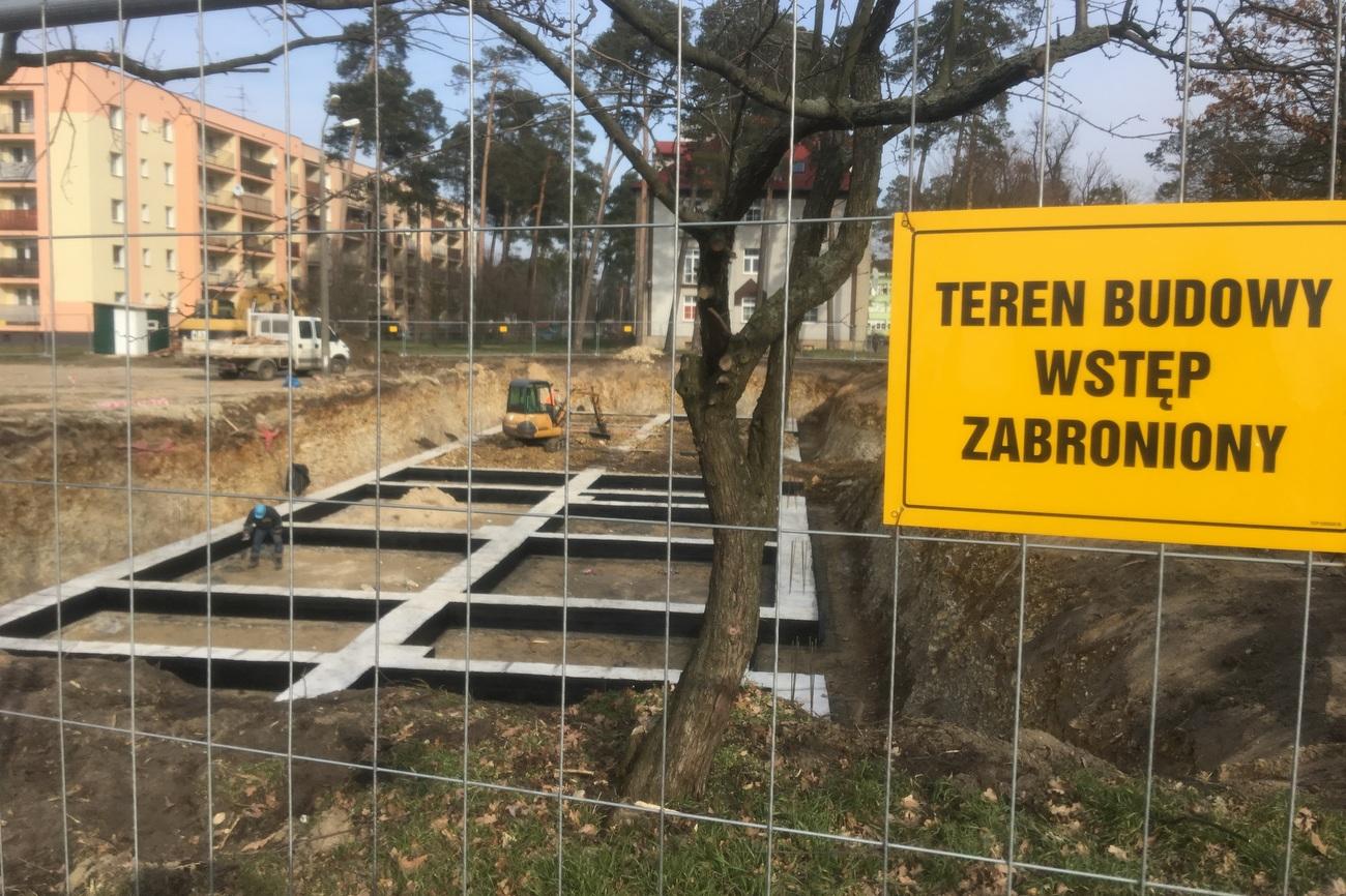Ruszyła budowa bloku w ramach gminnego projektu Twoje M