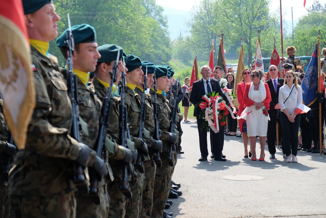 Moszczanka: wyjątkowe obchody święta flagi państwowej [FILM, ZDJĘCIA]