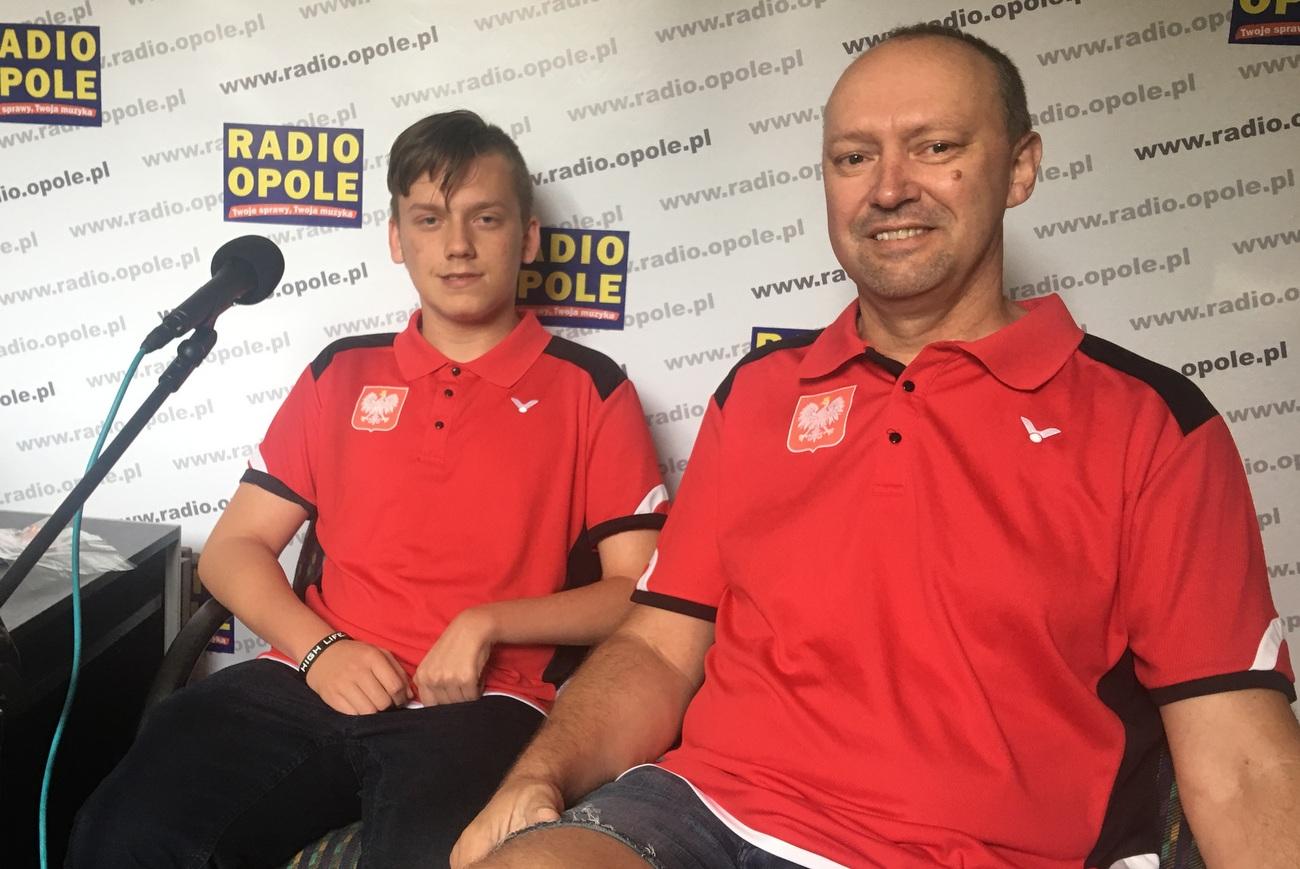 Denis Grzesiuk i Tomasz Zioło [fot. Agnieszka Pospiszyl]