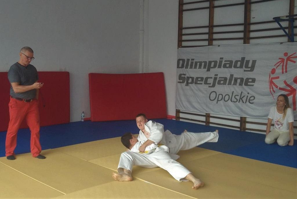 II Opolski Turniej Judo Olimpiad Specjalnych [fot. Katarzyna Doros]