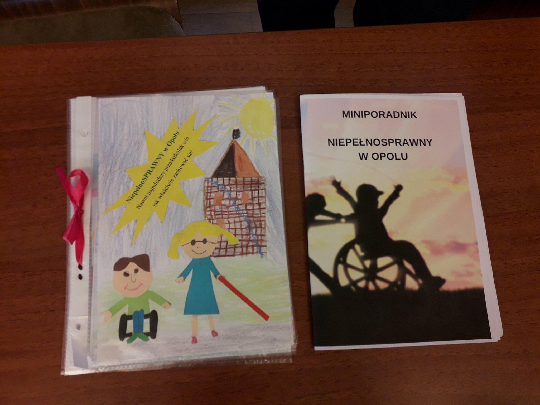 Mali opolanie wiedzą jak pomagać niepełnosprawnym. Stworzyli miniporadnik o dobrym zachowaniu