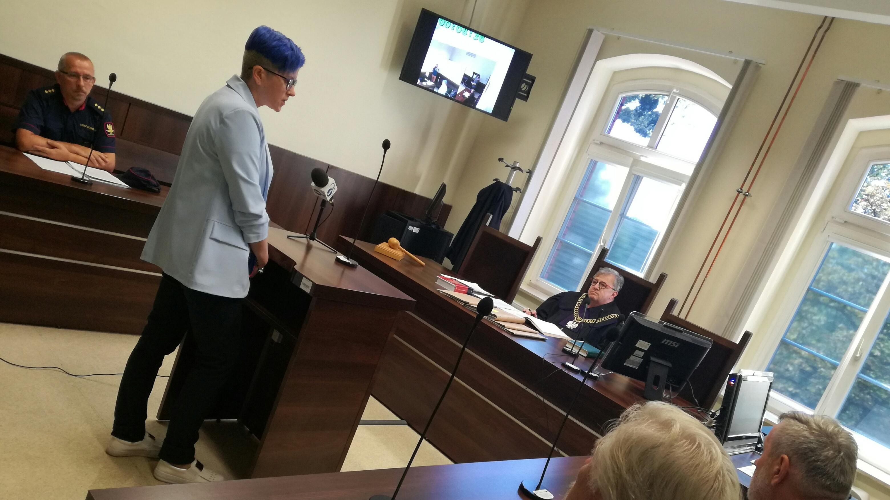 Sąd Rejonowy w Opolu: sprawa dziennikarz vs. PKP