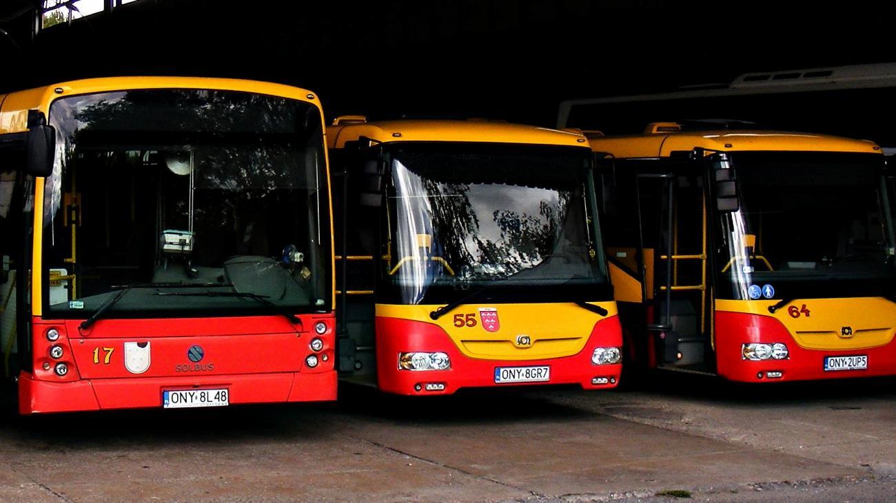 Nyskie autobusy miejskie [fot. MZK Nysa]